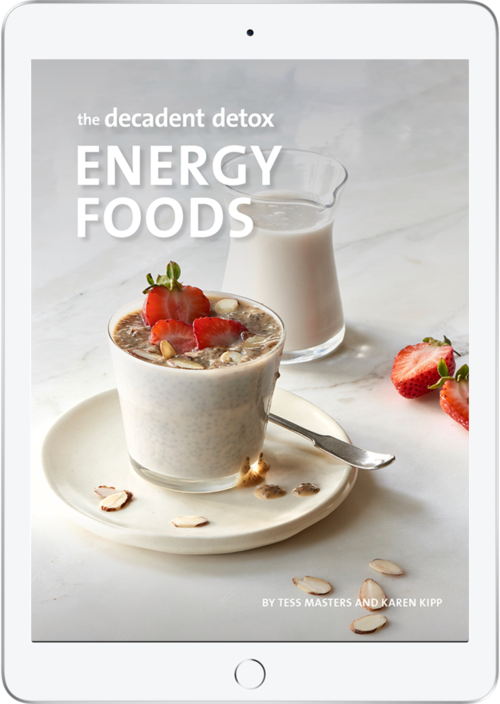 The Decadent Detox Energy Foods eBook Cover