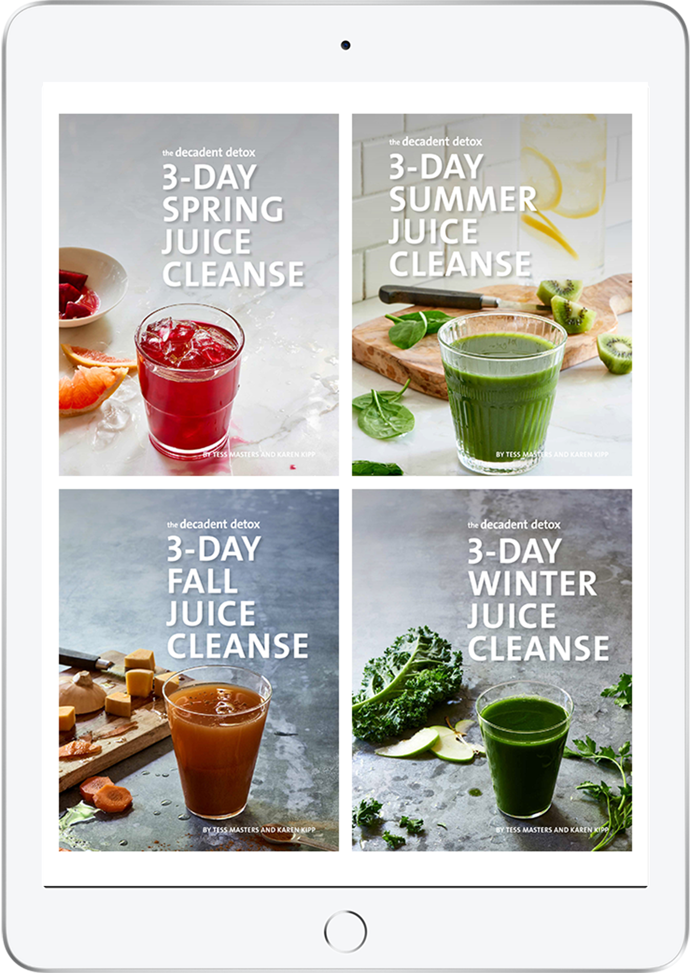 The Decadent Detox 3 Day Juice Cleanses Bundle Covers