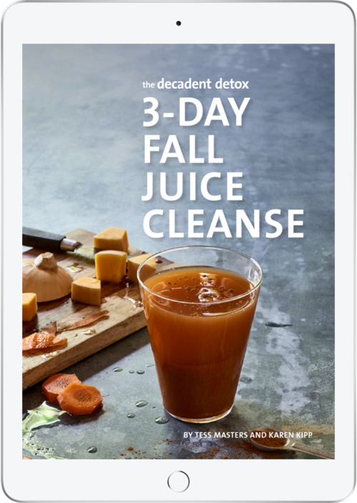 The Decadent Detox 3 Day Fall Juice Cleanse Cover