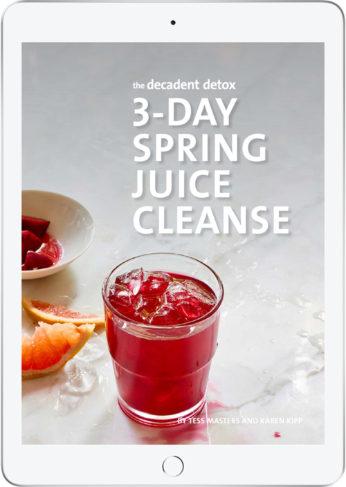 The Decadent Detox 3 Day Spring Juice Cleanse
