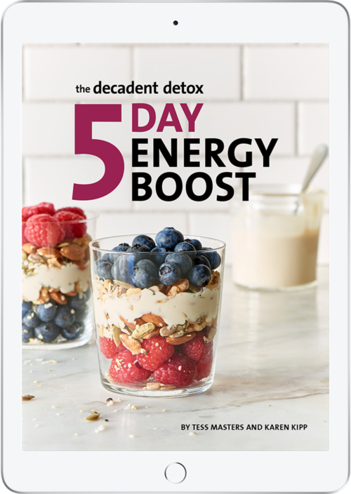The Decadent Detox 5 Day Energy Boost Cover Ipad