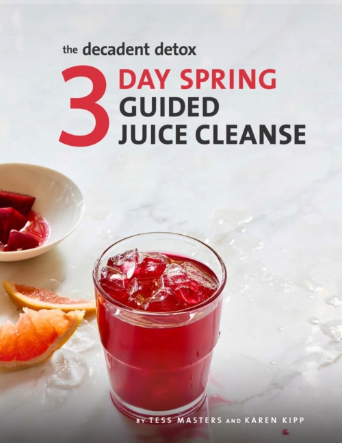 The Decadent Detox 3 Day Spring Guided Juice Cleanse Cover