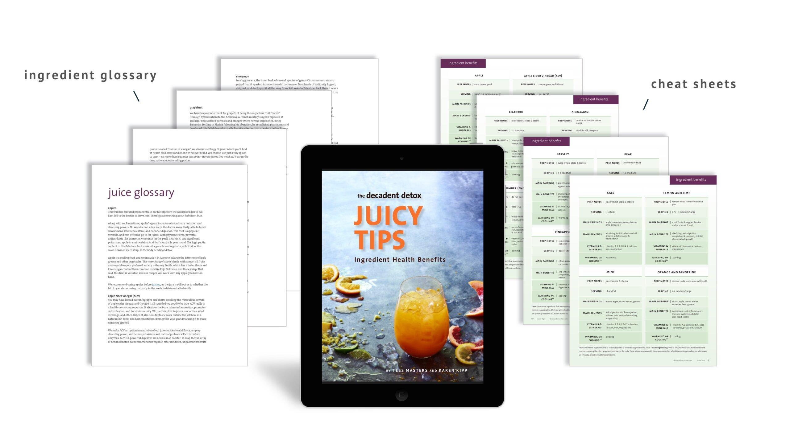 Juicy Tips Desktop Hero Arrows